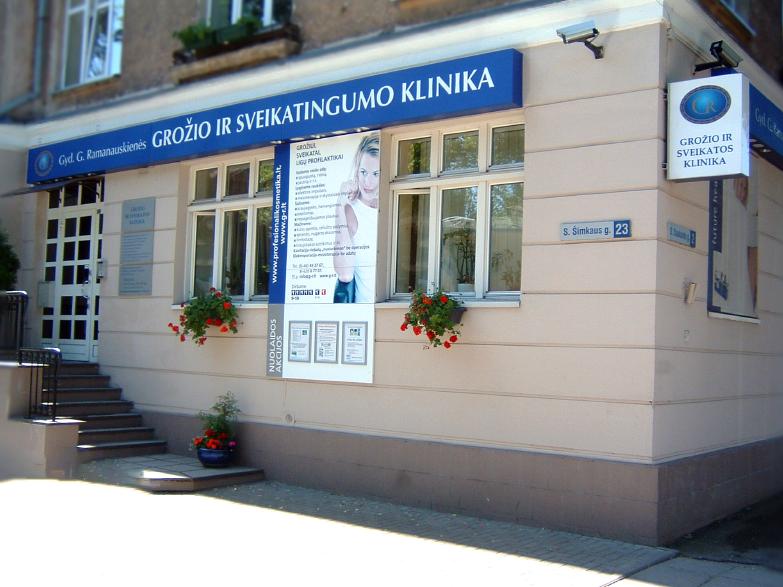 GR Grožio Klinika - Lokacija